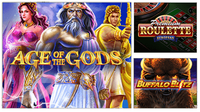 Many games at EuroGrand casino