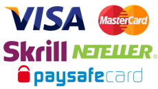 Deposit and Withdrawal money easy with the big variety of payment methods in Royal Panda